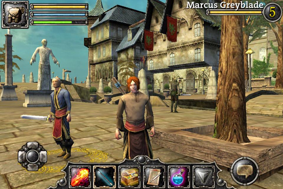 Video Game Screen